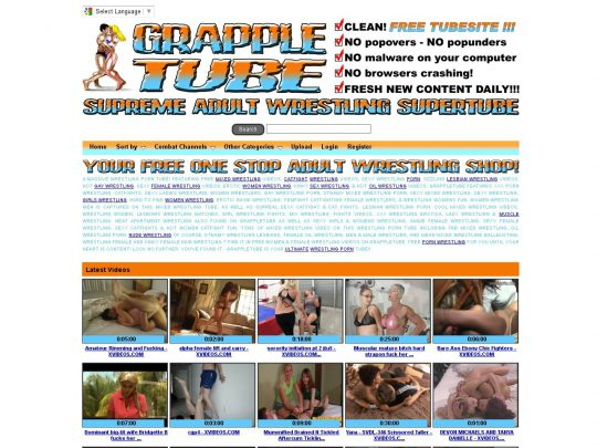 GrappleTube8211WrestlingPorn